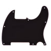 Telecaster Three Ply Black Esquire Guitar Pickguard