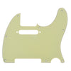 Telecaster Three Ply Mint Green Guitar Pickguard With Pickup Mount Holes