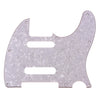 Telecaster Three Ply White Pearl Nashville Style Guitar Pickguard