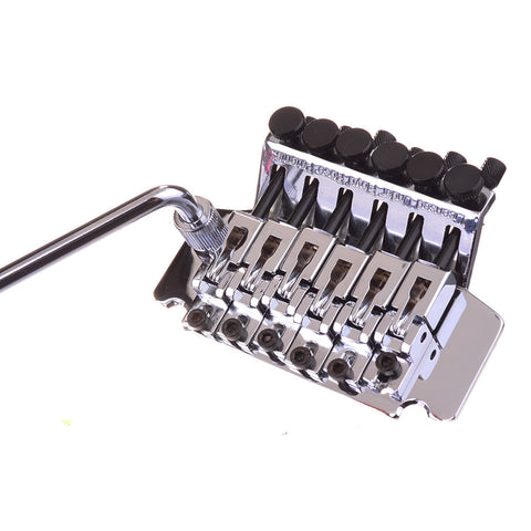 "Chrome Floyd Rose ""Fastloader"" Edge Style Guitar Tremolo System"