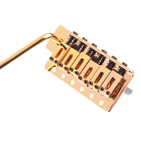 """Import"" Spaced Gold Floating Tremolo Bridge System"