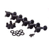 Black Inline Ball Lock Guitar Tuning Machines