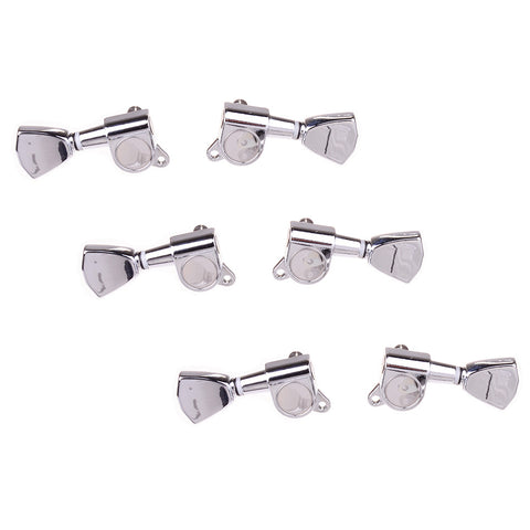 "Chrome ""Tulip"" Style 3x3 Guitar Tuners"