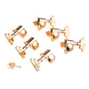 Gold 3x3 Imperial Style Button Guitar Tuning Machines