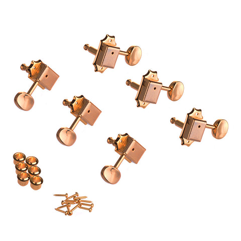 Gold 3x3 Kluson Style Guitar Tuning Machines
