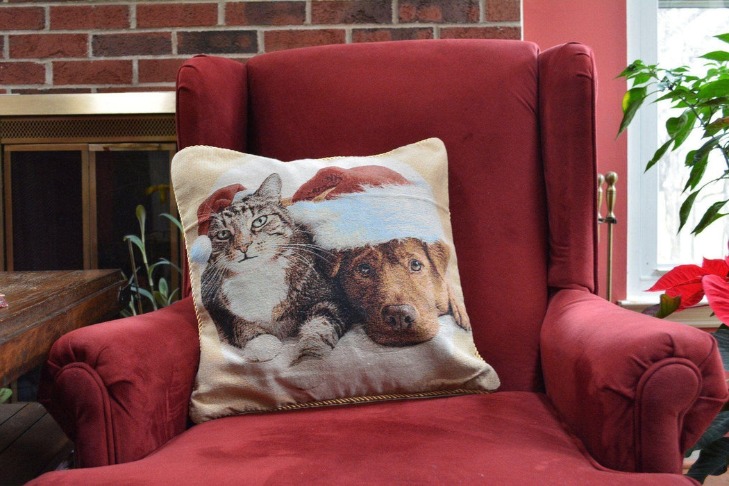 Cushion Cover - Tache Best Friend Christmas 18 X 18 Inch Throw Pillow Cushion Cover