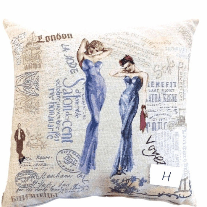 Cushion Cover - Tache Girls Just Want To Have Fun Woven Throw Pillow Cushion Cover
