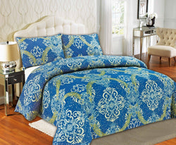 Duvet Set - Tache Star Gazing Blue Yellow Luxurious Fancy Duvet Cover Set