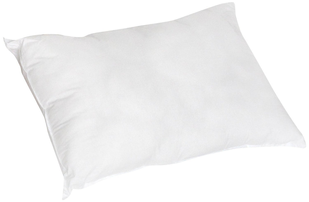 "PILLOW - DaDa Bedding Dreamland Pillow Insert Filling - Solid White - Standard 20"" x 28"" - 1-Piece - DaDa Bedding Collection"