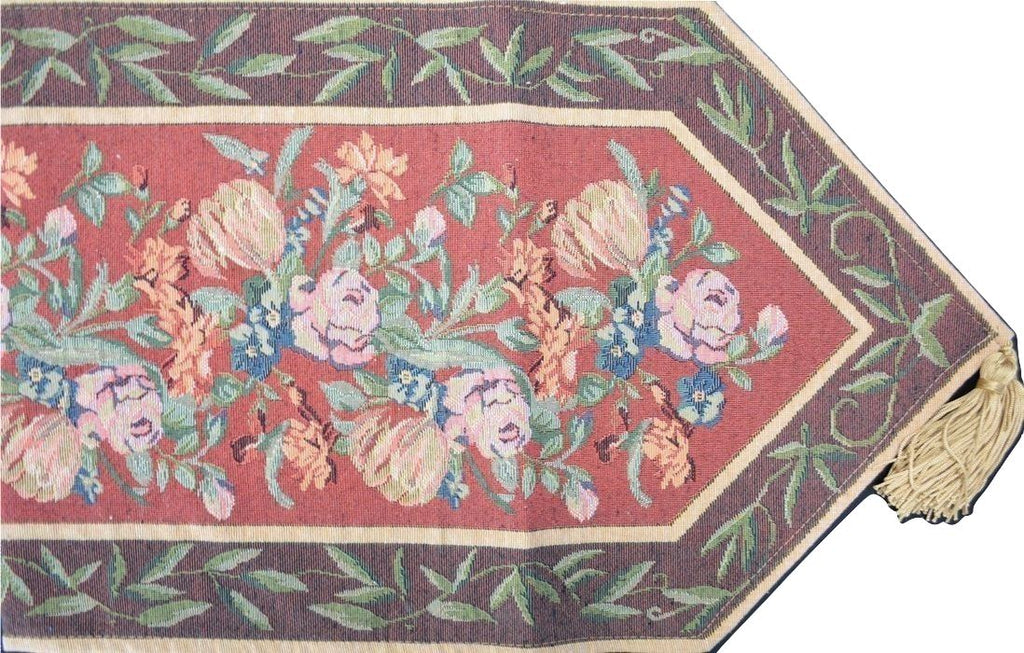 Dada Bedding Hand Crafted Woven Field Of Roses Tapestry