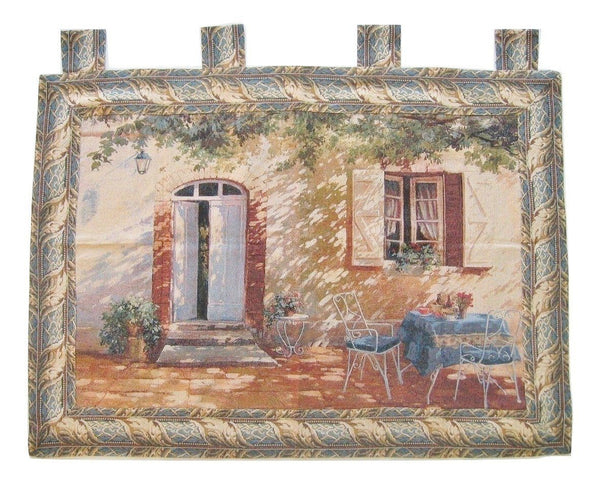 "WALL HANGING - DaDa Bedding Shadow Of Life Elegant Woven Fabric Baroque Tapestry Wall Hanging - 36"" X 50"""