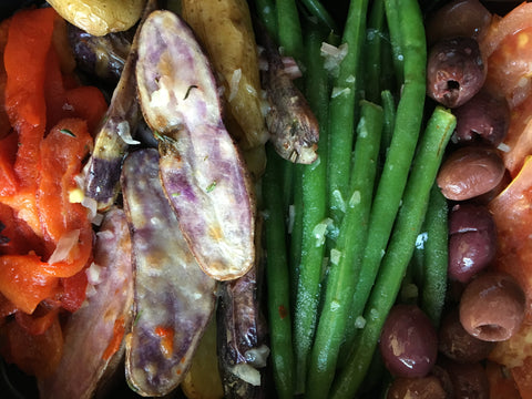 Vegetable Nicoise Dish