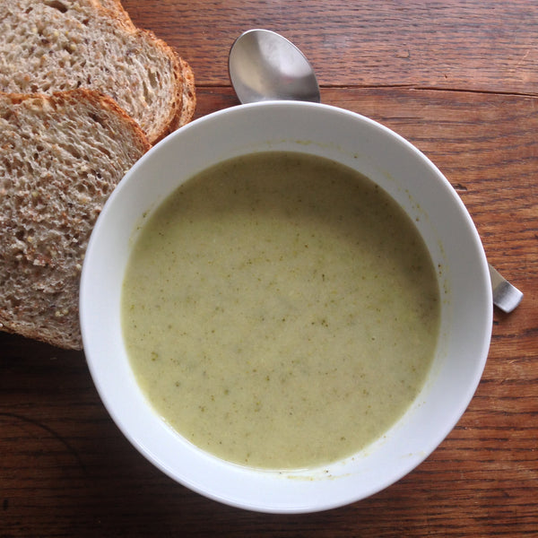 Cream of Potato Broccoli Soup