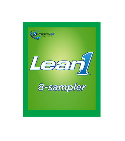 Lean1 Sampler 8-serving packets
