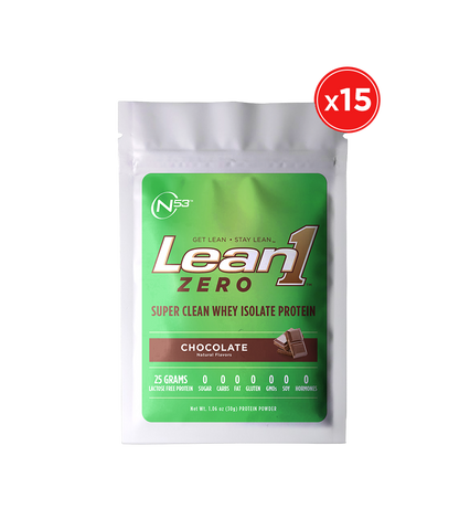 Lean1 Zero 15-serving packets