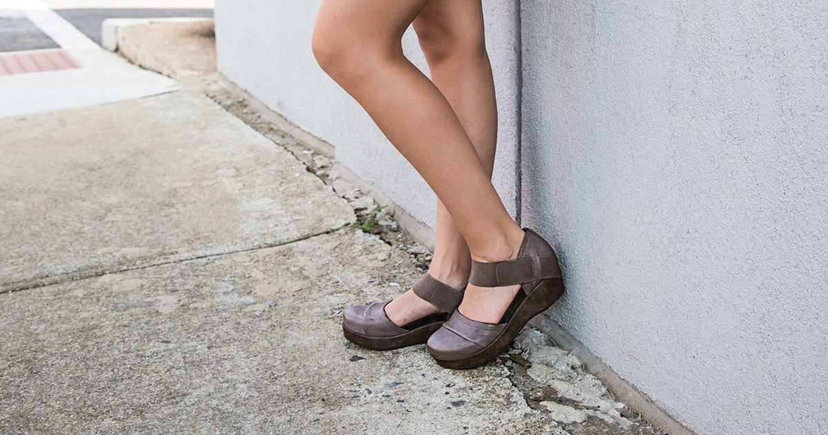 a18fbf5d48d Wander Out in Comfortable Closed-Toe Wedges