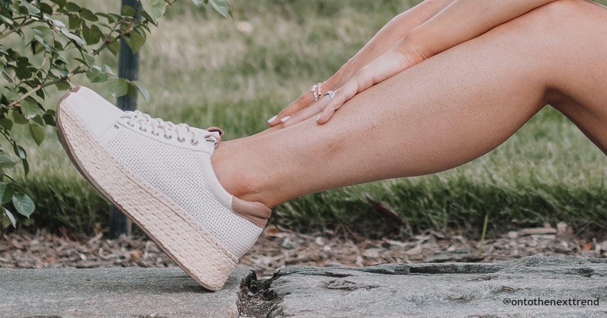 How to Wear Espadrille Sneakers