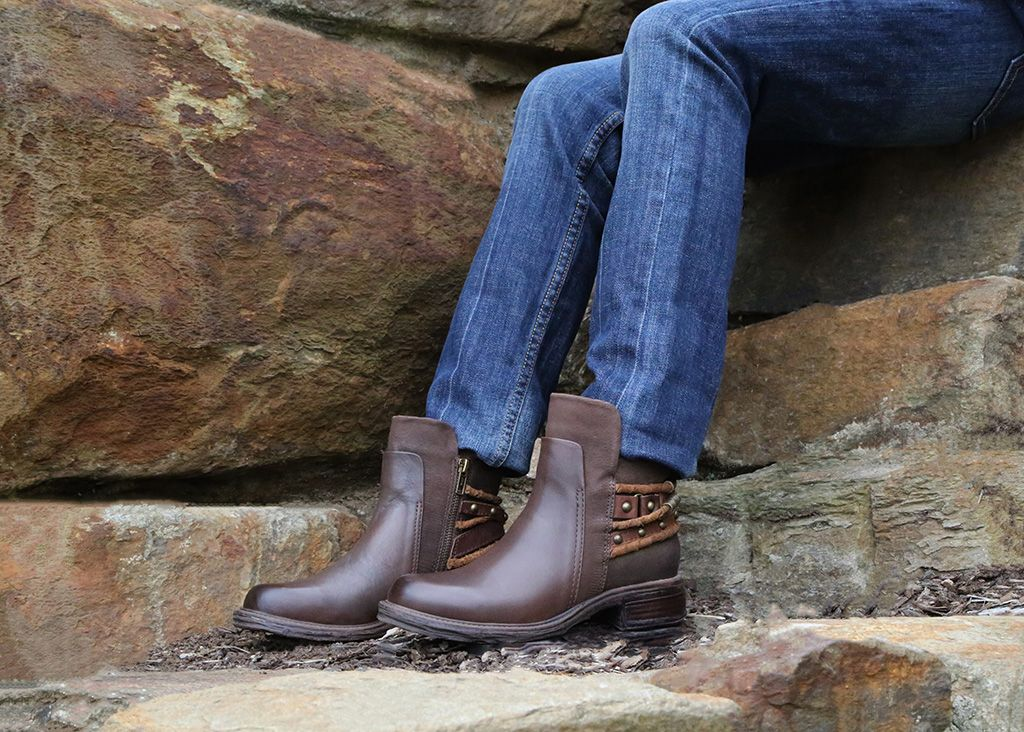 Fall in love with this collection of comfortable fall boots, booties, wedges, and sneakers from OTBT Shoes.