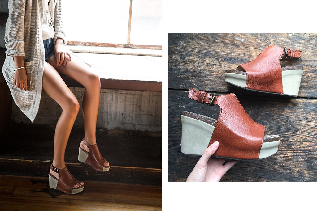Meet the Jaunt, the latest summer to fall transition wedges from OTBT!