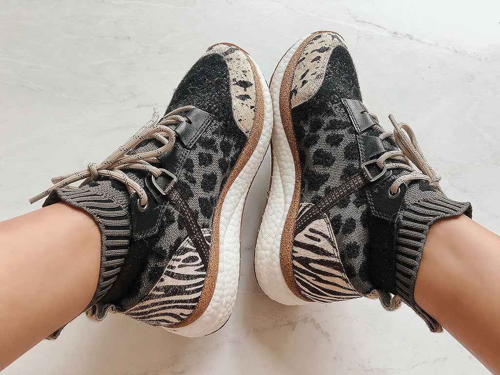 stretch knit womens fashion sneakers