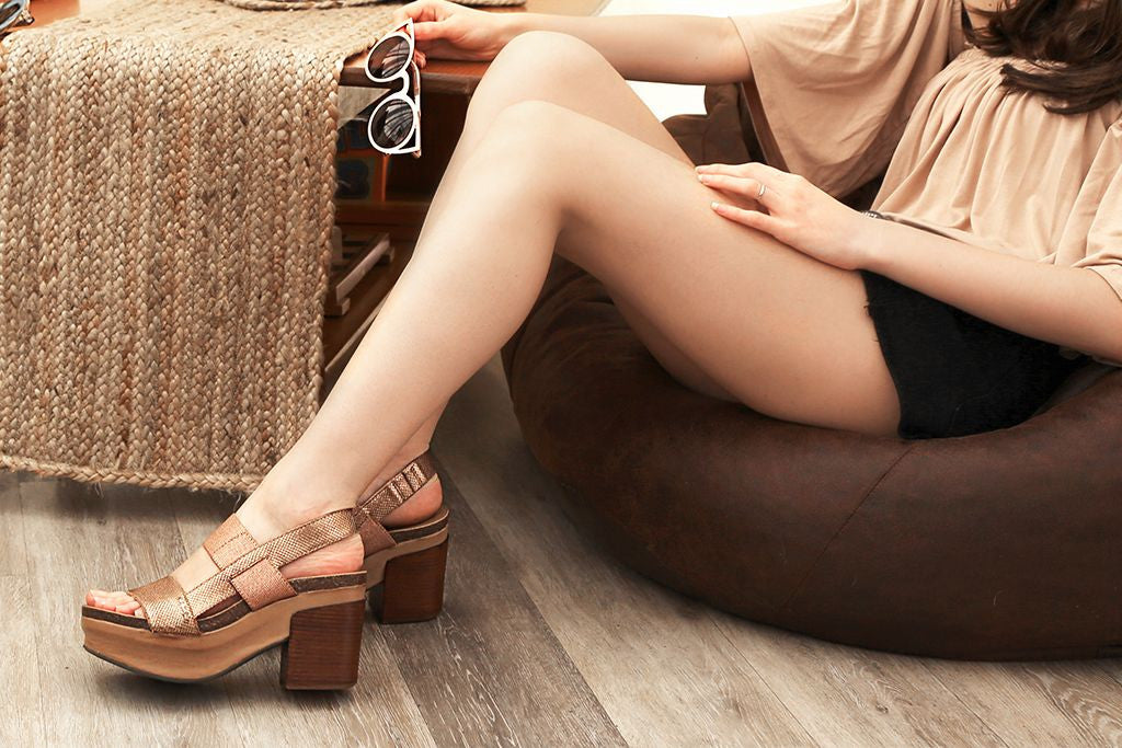 Get ready for festival season with these fun and free-spirited fashions paired with comfortable boots, chic sandals and stylish platform wedges from OTBT Shoes.
