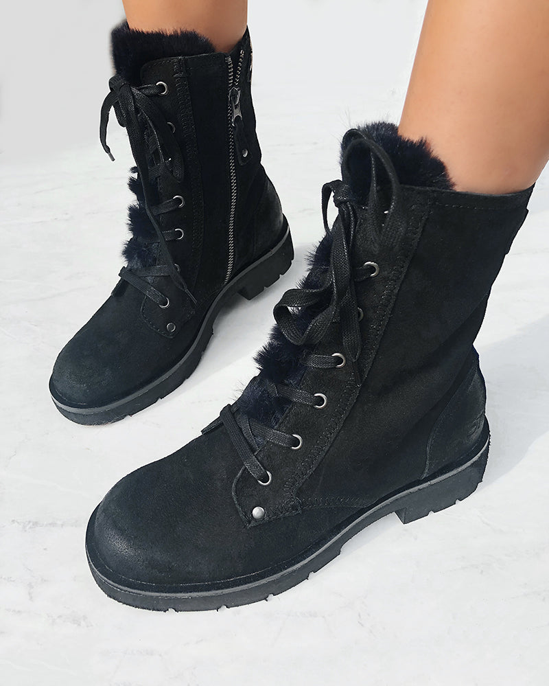 comfortable cold weather boots