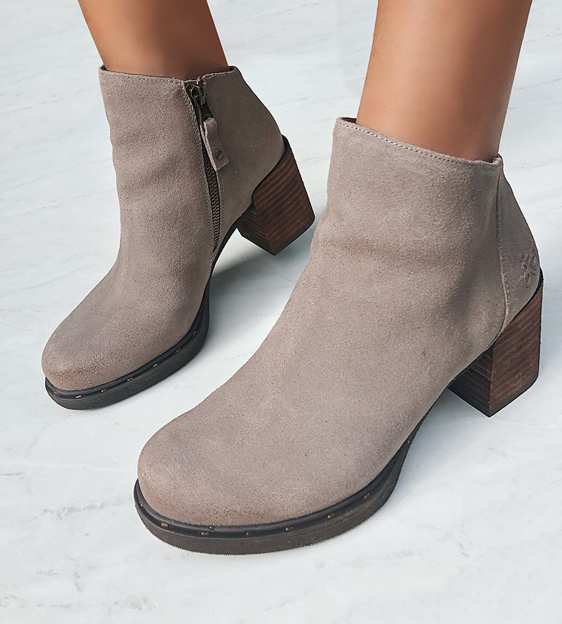 fashionable cold weather booties