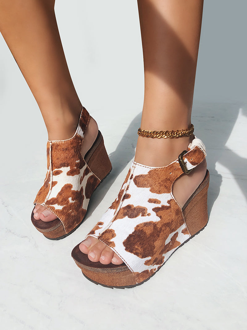 comfortable platform wedge