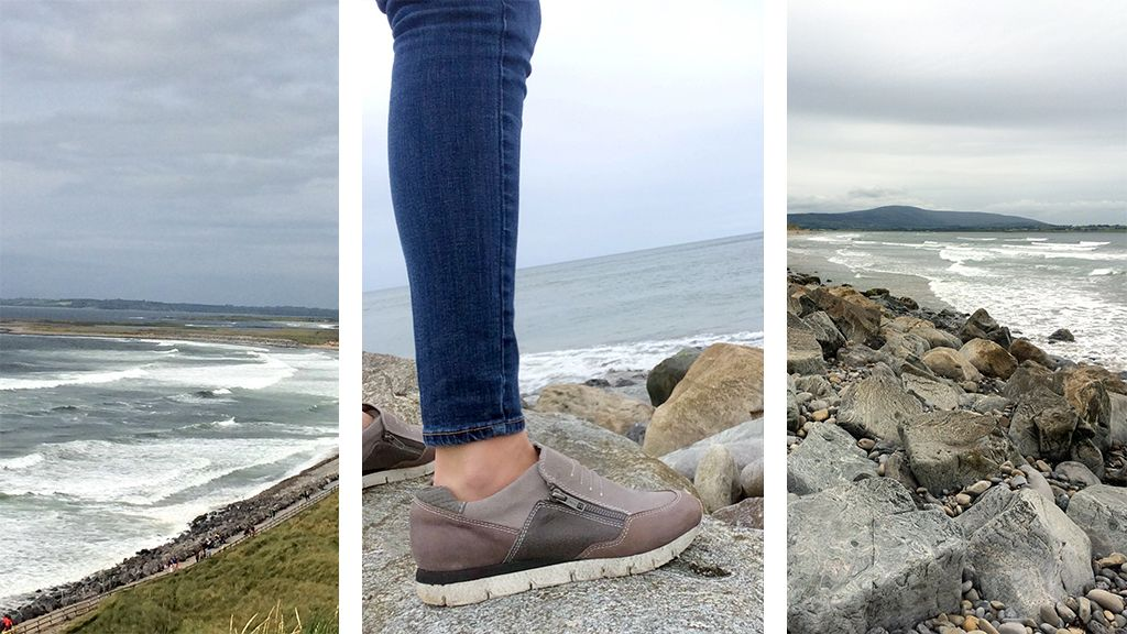 Check out our recent trip to Ireland in the Sewell sneakers.