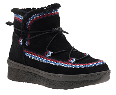 cold weather boots moccasins