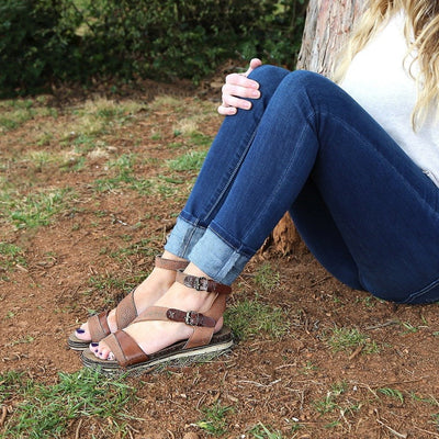 otbt march on womens sandal in tuscany lifestyle