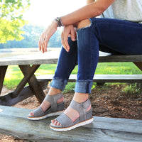 otbt cosmos wedge sandal in cloudburst lifestyle park