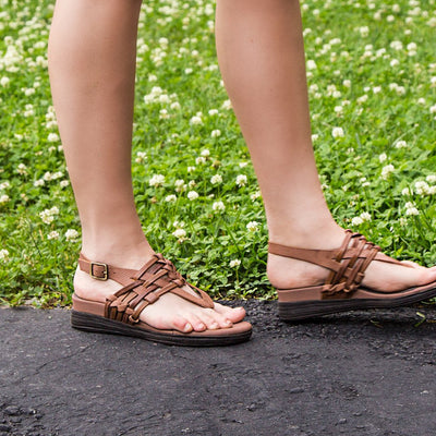Womens OTBT sandal Aviate in New Brown
