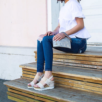 lightweight platform wedges for women moonchild in gold lifestyle