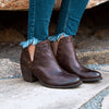 SANTA FE in COFFEEBEAN Ankle Boots