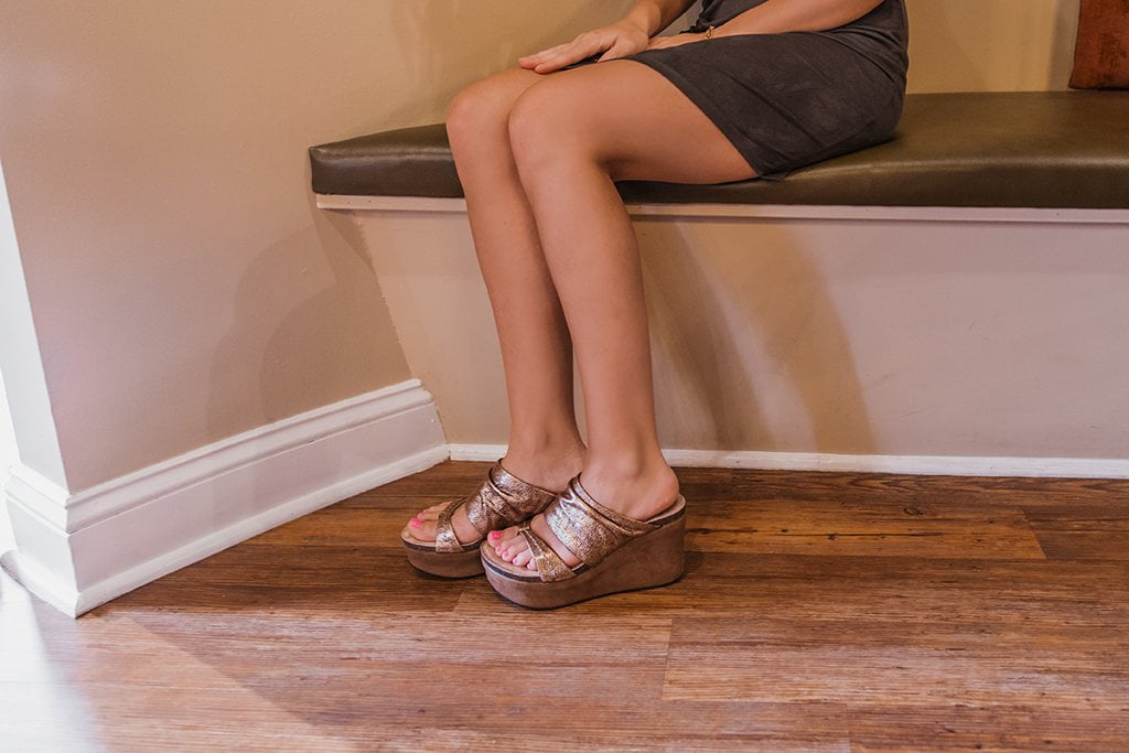 otbt womens wedges tailgate in copper 1