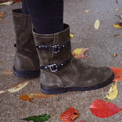 Womens mid Shaft boot Causeway in sable
