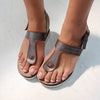 BOATHOUSE in PEWTER Wedge Sandals