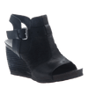 arcadian in black women's wedge primary