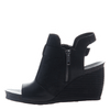 arcadian in black women's wedge inside