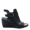 arcadian in black women's wedge outside
