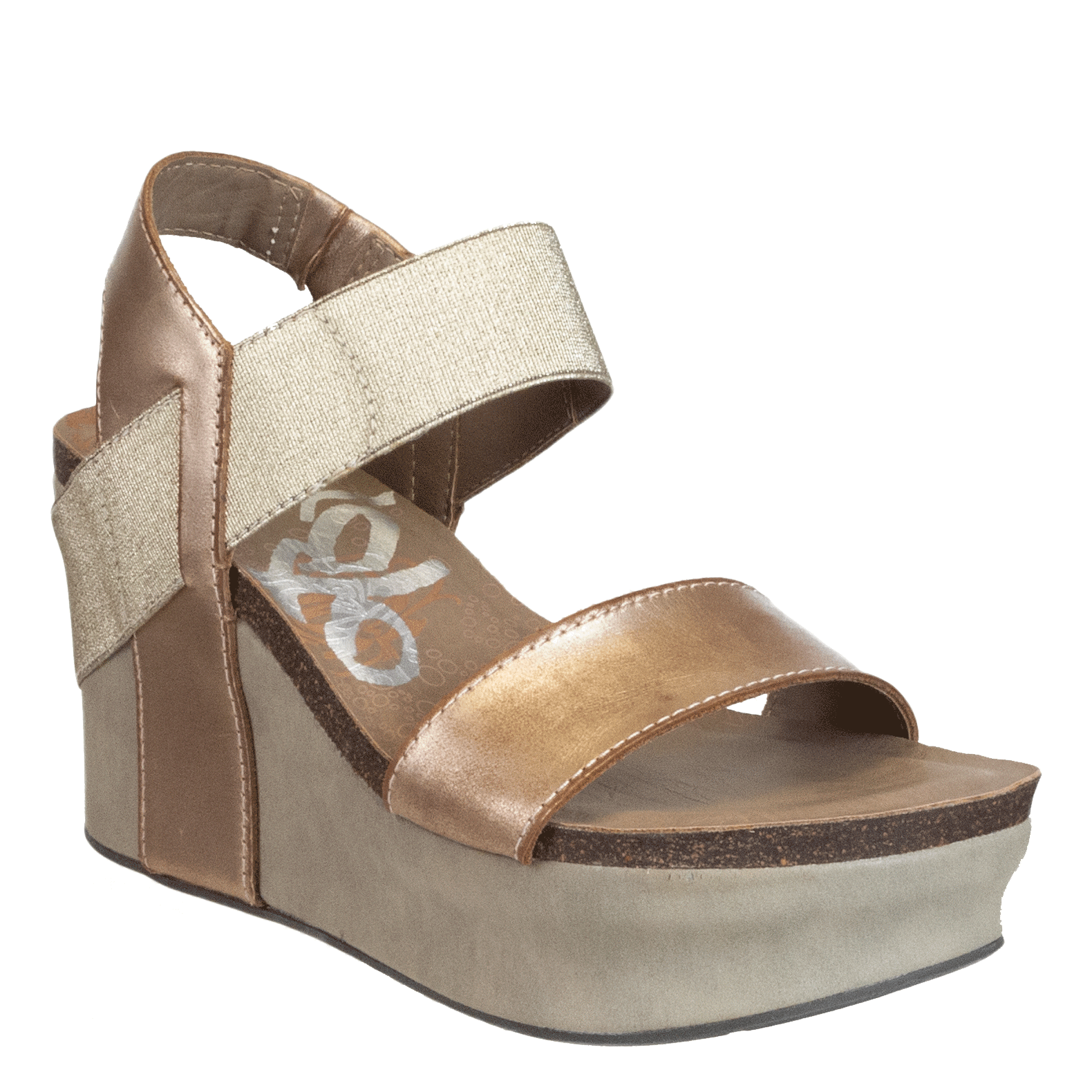 Womens wedge bushnell in gold
