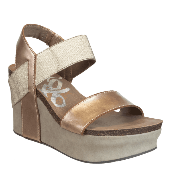 New Look Gold Wedges Cheap Online