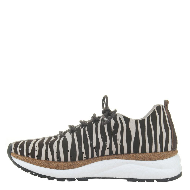 ALSTEAD in ZEBRA PRINT Sneakers