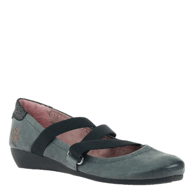 Womens flat Anora in dusty