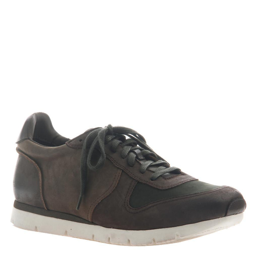 Armada - Travel Lite Leather Sneaker coffeebean 1