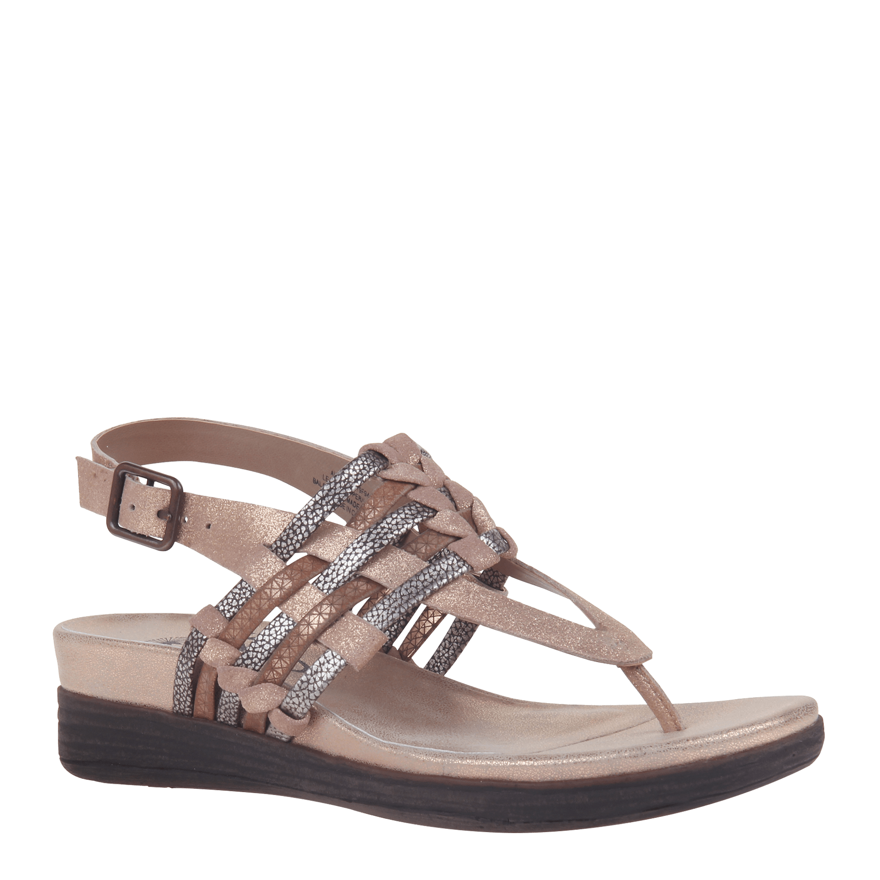 Womens sandal Aviate in Copper