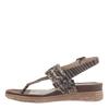 Womens sandal Aviate in New Tan left