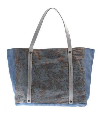 womens handbags otbt copa in new blue back