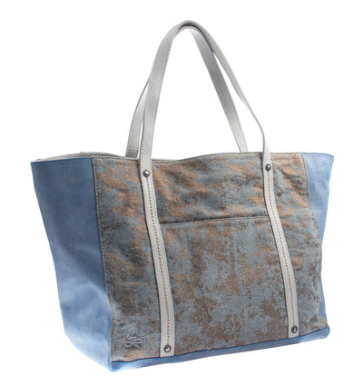 womens handbags otbt copa in new blue side angle